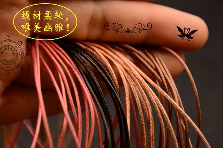 Alibaba グループ 上の Hakugei ケーブル氷の結晶絶縁リッツ 7 NOCC (133 コア/外径: 1.25 ミリメートル) diy イヤホンワイヤー 4 色 6 メートル 3