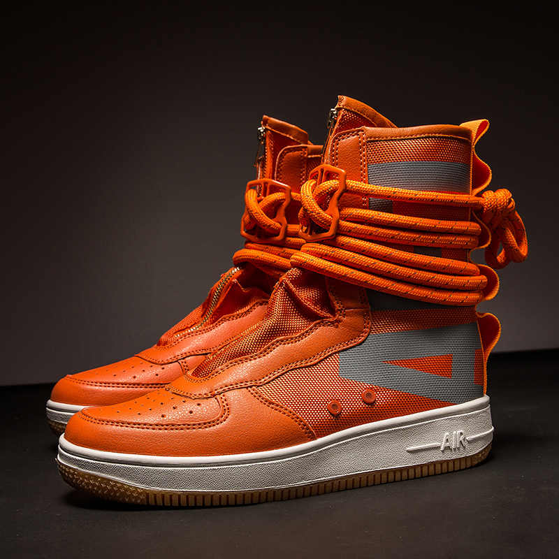 JINBAOKE Hot Sale Men Skateboarding Shoes High Top Canvas Breathable Shoes  Outdoor Lovers Encapsulated Shoes Sports 2c0c4f901cb8