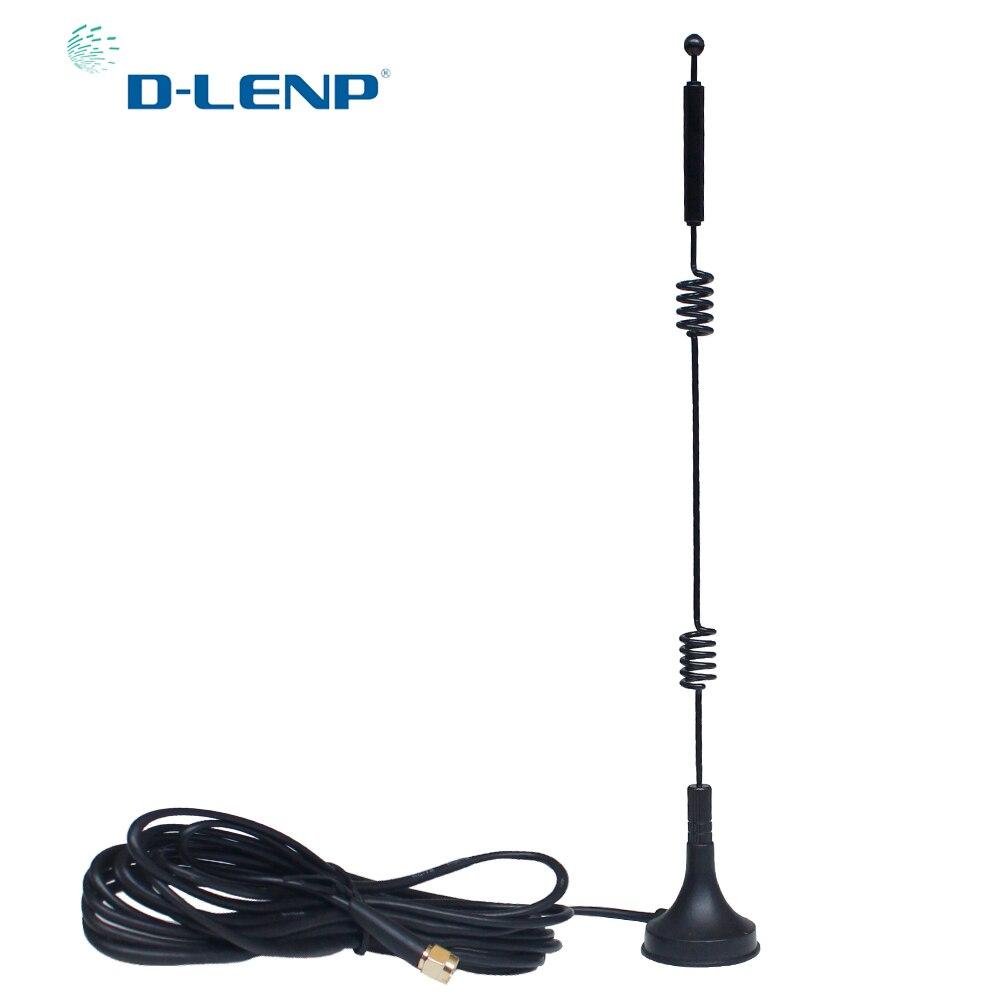 Antena Dlenp de doble banda 2,4G/5,8G para WiFi, Antena Rotuter SMA para Huawei Aerial 12 dbi, Cable GR174 de alta ganancia Antena móvil SG7900 U/V Dualband, 144/430Mhz, SG-7900, alta ganancia dBi, Antena de Radio de coche, fuerte Antena de Base de señal, venta al por mayor