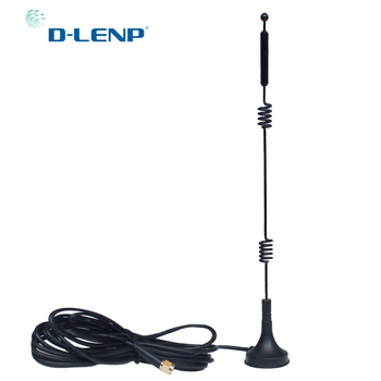 Dlenp Antena Dual Band 2.4G/5.8G Antenna for WiFi Rotuter SMA Huawei Aerial 12 dbi High Gain GR174 Cable