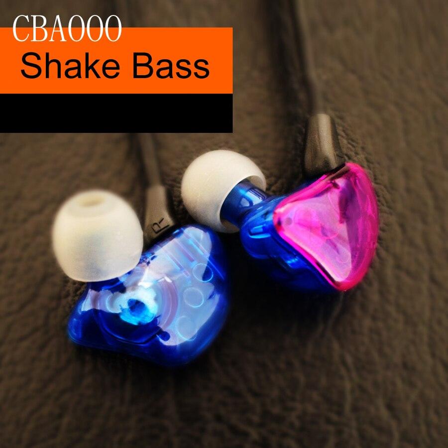 CBAOOO 3.5mm Bass Earphones Headset Housing Earbuds Noise Cas