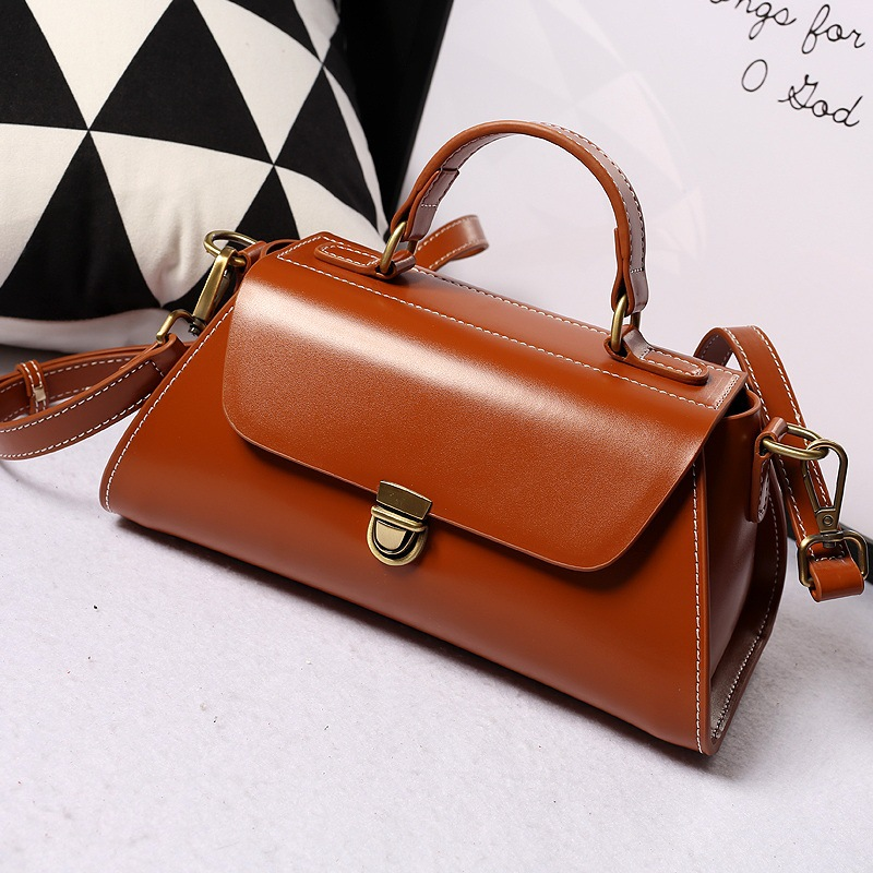 2017 New Arrival Vintage Bag For Women Fashion Split Leather Woman Handbags Female Messenger Bags Designer High Quality Tote Bag new arrival ship pattern design brooch for female