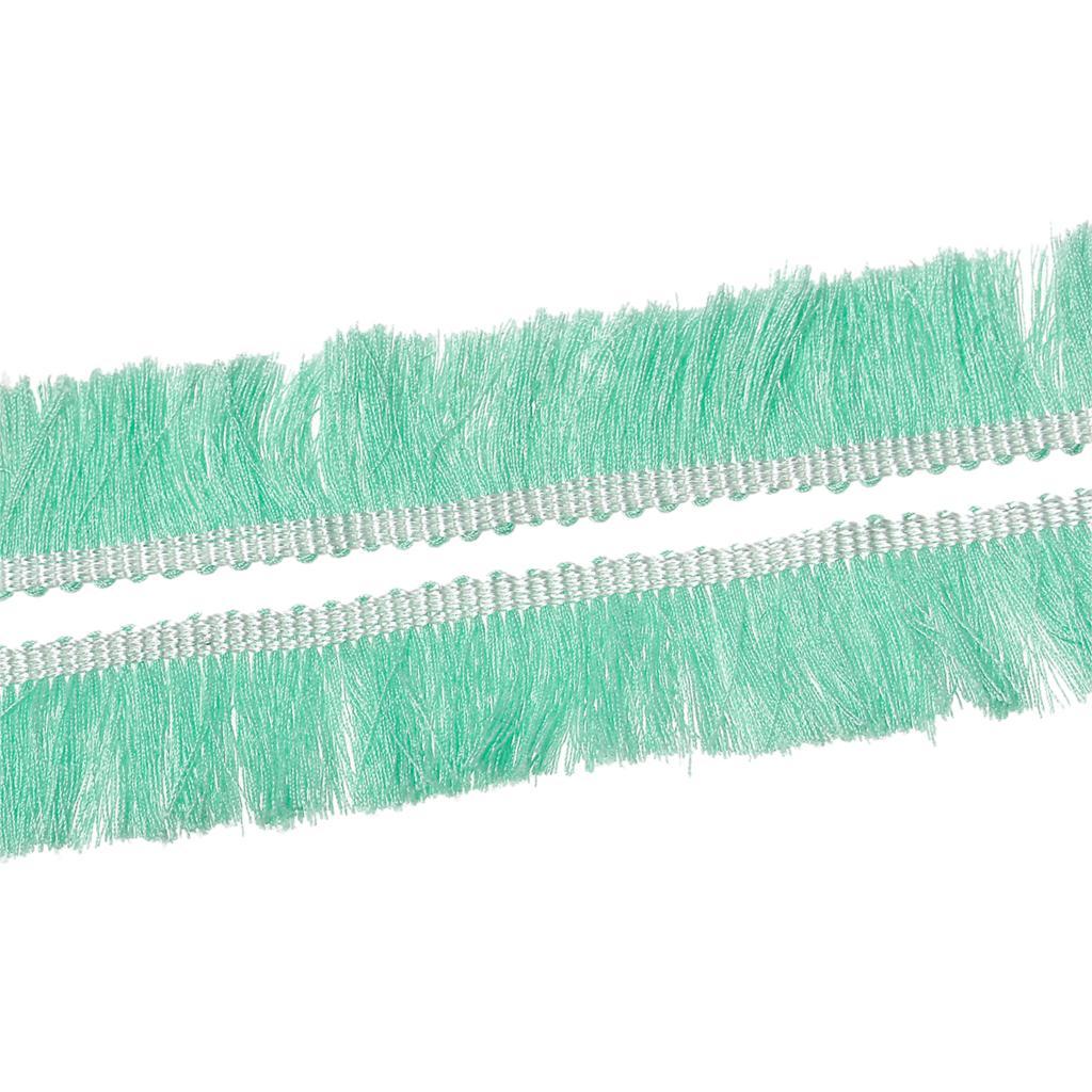 20cm Flecos banda para borlas en Mint
