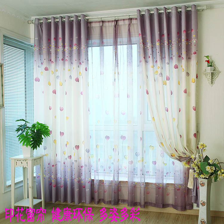 Living Room Curtains Cheap : Very cheap! Different Modern Pastoral Curtain for Window ...