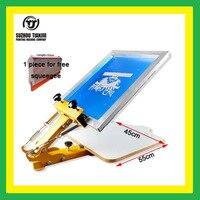 TJ Table Board Fixed Single Color Screen Printing Machine Simply T Shirts Screen Printing Machine