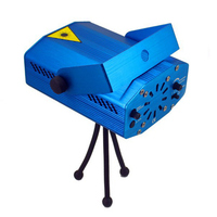 New Guaranteed Blue Mini RG Projector Holographic Laser Star Stage Lighting Effect DJ Disco Christmas New