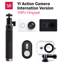 NEW Original Xiaomi yi Action Sports Camera Xiaoyi WiFi Sport Camera 16MP 60FPS WIFI Ambarella Bluetooth International Version
