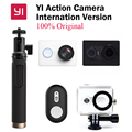 Nueva original xiaomi yi cámara de acción xiaoyi wifi deporte cámara 16mp ambarella 60fps wifi bluetooth versión internacional