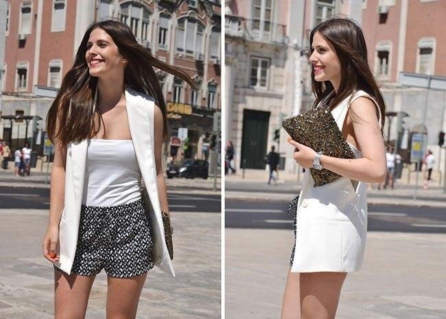 blazer colete feminino coletes veste femme moda botão colete outwear ow0114
