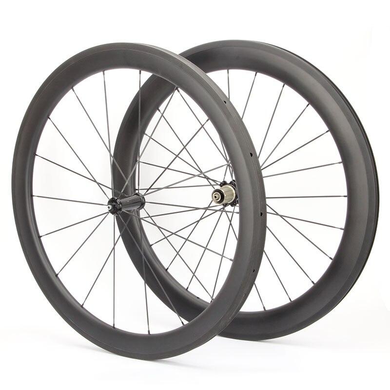 700c довод углерода колесная 50 мм углерода 3k скорость углеродного цикла колеса керамические подшипники ступицы р36