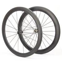 700c móc sắt carbon wheelset 50 mét carbon 3 k tốc độ carbon cycle wheel vòng bi gốm r36 hub