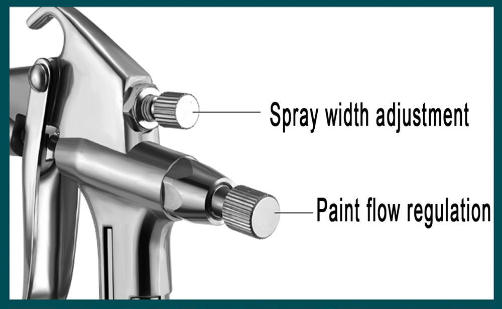 HTB15qknXcrrK1Rjy1zeq6xalFXaX - Spraying machine Spray gun K-3 0 caliber 0.3/0.5/mm nozzle car automatic spray gun kit Airbrush