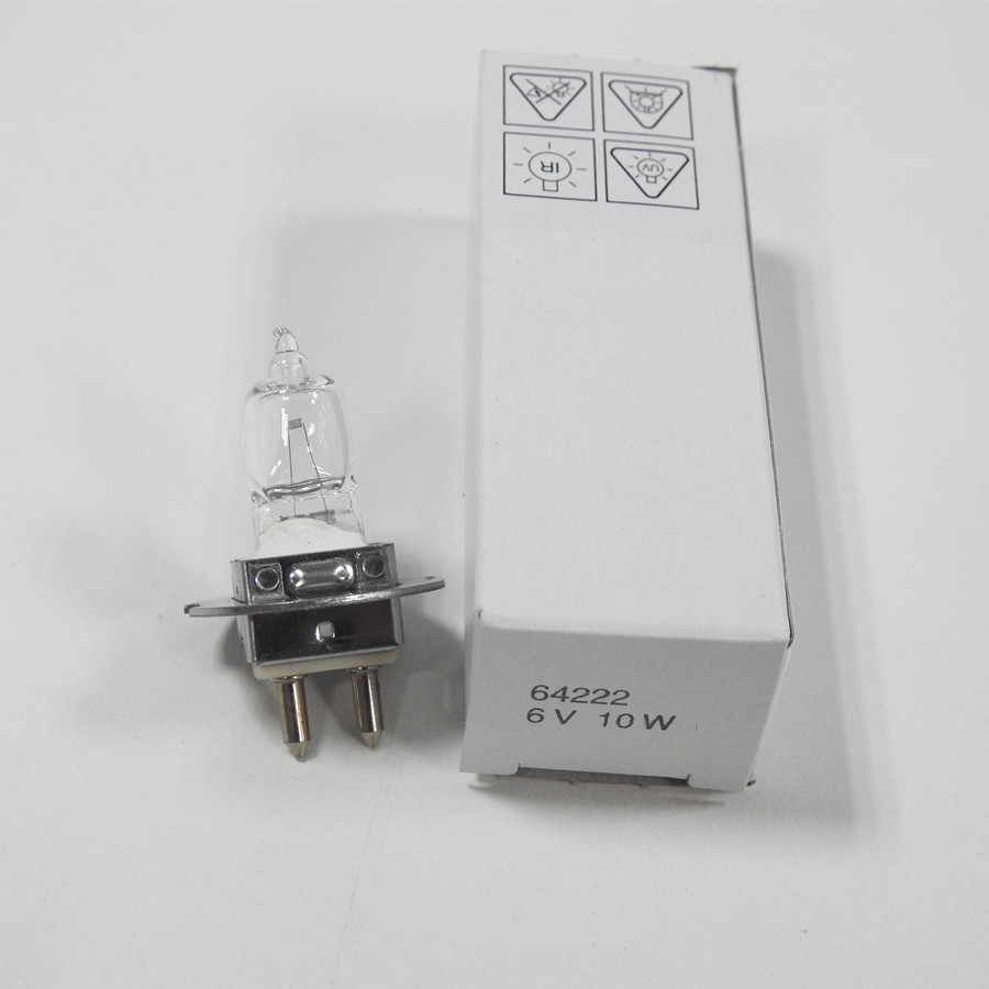 цена на Zeiss SL 115 6V 10W PG22 OSRAM 64222 Microscope lamps original made in Germany 64222