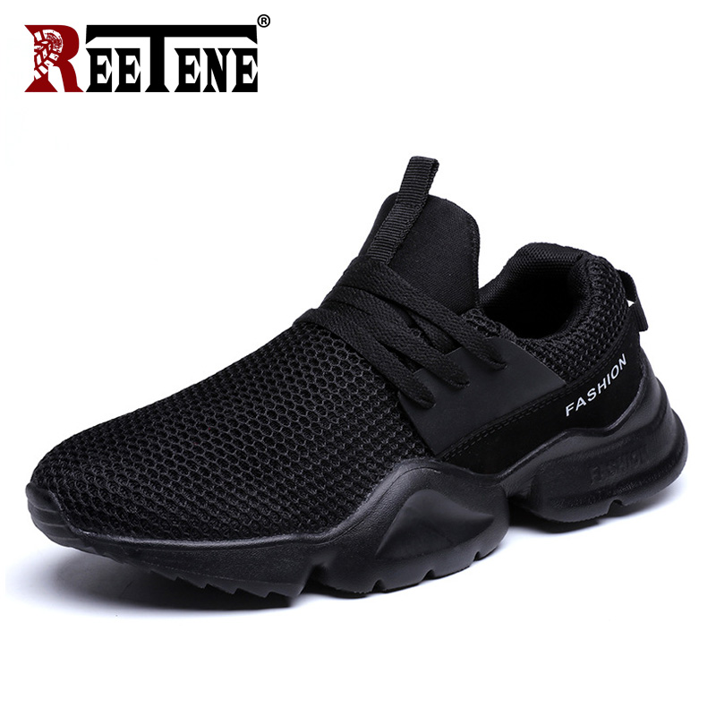 35e4c43f Reetene Размеры 35-50 мужская повседневная обувь весна лето Модные мужские  кроссовки на открытом воздухе