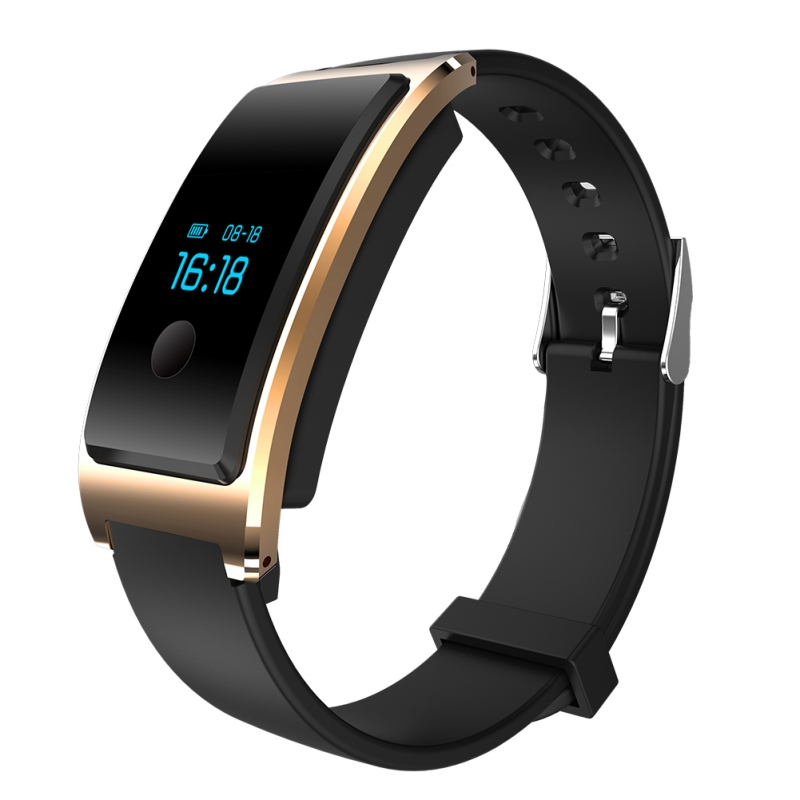 AlfarTec MD8 With Heart Rate Monitor Activity Tracker Sleep Tracker Bluetooth Pedometer Call Message Reminder For