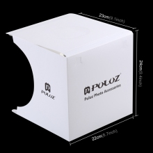 Mini Folding Lightbox Photography Photo Studio Softbox 2 Panel LED Light Soft Box Photo Background Kit Light box for DSLR Camera