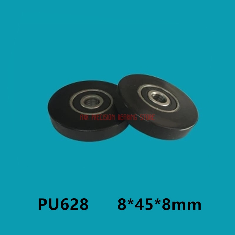 Plastic bearing wheel roller pulley 628 plastic POM bearing 8*45*8mm nylon roller small pulley DIY design door and window pulley image