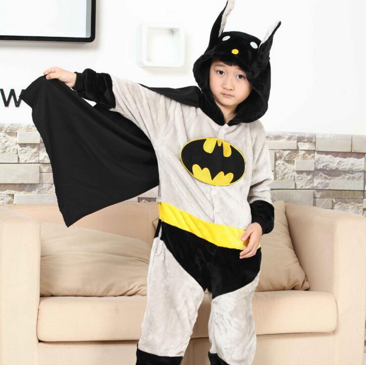 Winter Flannel Fleece kiguru Pajamas Animal Children Anime Cosplay Boys Girls One Piece pyjama Onesie Kids blanket sleeper Hero цена