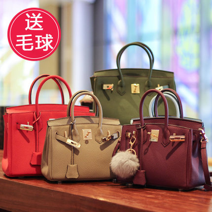 2018 NEW Lock Handbags & Crossbody bags Fashion Tote Women PU Bag Soft leather bag