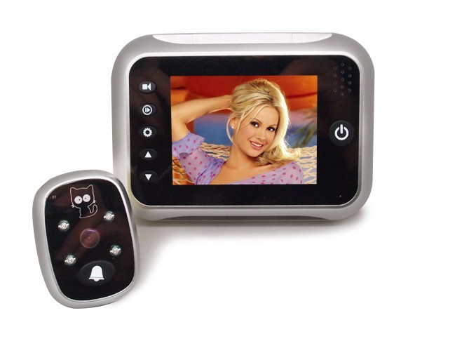 ФОТО 3.5 Inch TFT Monitor  video door phone IR Night Vision  video doorbell Video Recording &Take Photo
