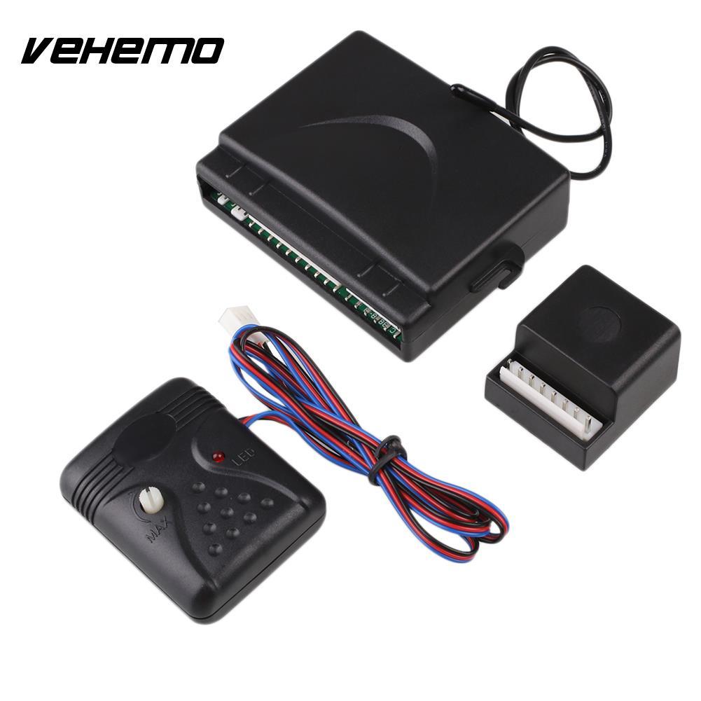 2 porte Télécommande de Verrouillage Central Système De Verrouillage Kit Set & Voiture de Sécurité D'alarme - 5