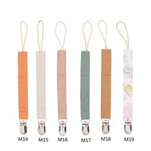 Cotton Linen Pacifier Clips Chain Dummy Clip Pacifier Holder Nipple Soother Chain For Infant Baby Feeding Baby Accessories wood pacifier clip metal dummy clip nature football pattern pacifier chain soother holder baby feeding clips attache sucette