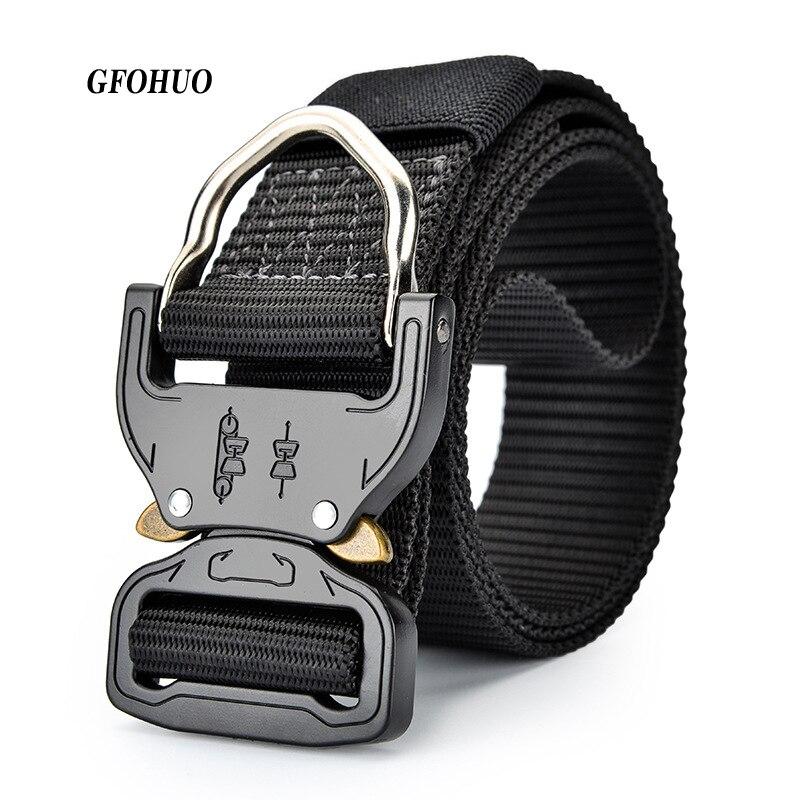 Best Ybt Unisex Nylon Belt 2018 New High Quality Alloy Insert Buckle Men Belt Outdoor Sport Cowboy All-match Casual Nylon Belt Apparel Accessories