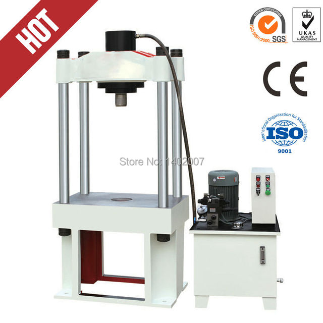 100TA Hydraulic H gantry frame press machine/small press punch for ...