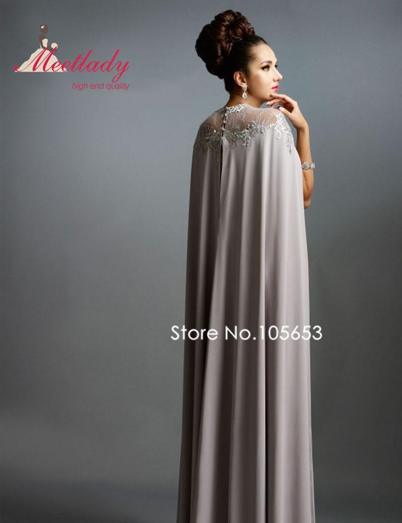 Romantic Muslim Mermaid Long Applique Evening Dress Vintage Satin ...