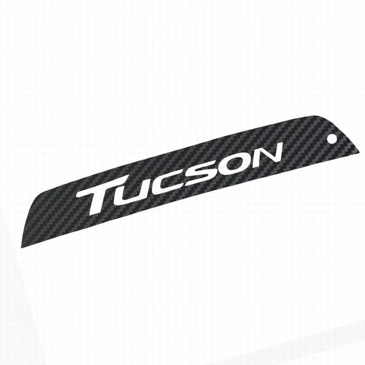 Для hyundai New Tucson углеродное волокно задний тормозной светильник декоративная крышка наклейки чехол автомобильные аксессуары водонепроницаемый