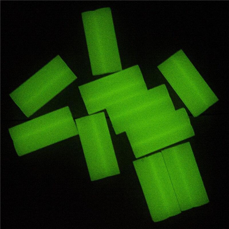 10pc/set Fishing Rod Tip Light Holder Clip Fishing Lightstick Rod Feeder Clip Fluorescent Light Sticks