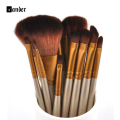 Makeup Brushes 12Pcs Professional Makeup brushes Tool Set Makeup Brush Tool Kit For Eye Shadow Palette Cosmetic Brushes
