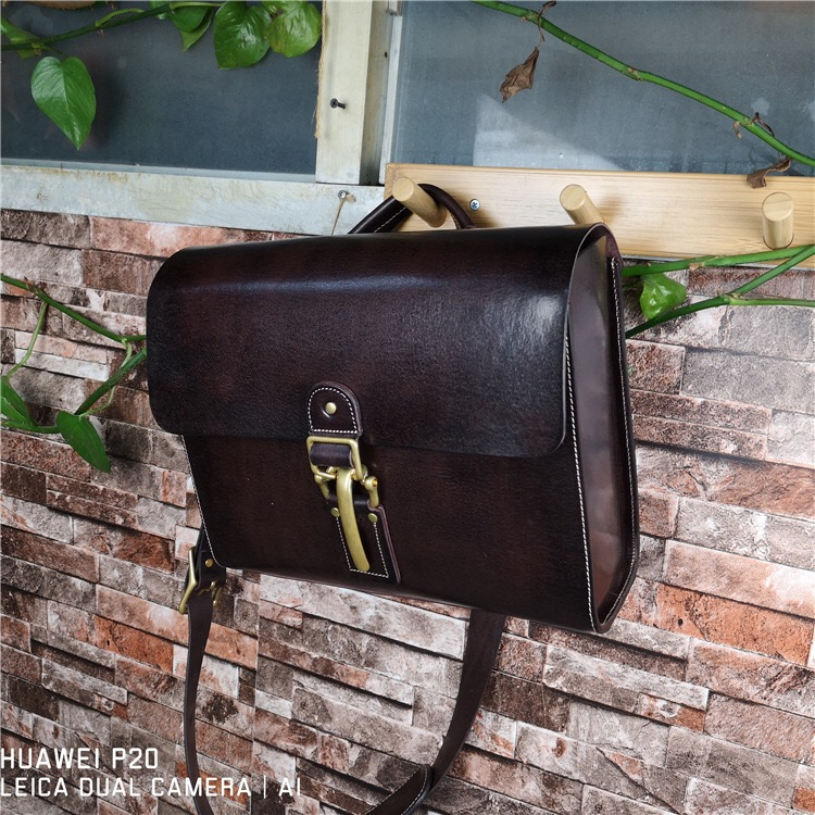 England Style Genuine Vegetable Tanned Leather Two-sets Mens Satchel Bag Natural Cowhide Male Cross Shoulder Bag Laptop HandbagEngland Style Genuine Vegetable Tanned Leather Two-sets Mens Satchel Bag Natural Cowhide Male Cross Shoulder Bag Laptop Handbag