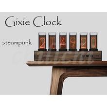 [Relógio gixie] rgb quasi brilho tubo relógio criativo