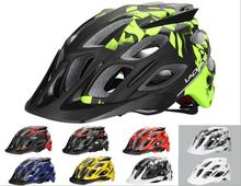 8 Colors LAPLACE Q3 XC/AM Downhill Bicycle Helmets Trail Enduro Shaped Ultralight Visor Cycling Bike Racing Helmet Equipment