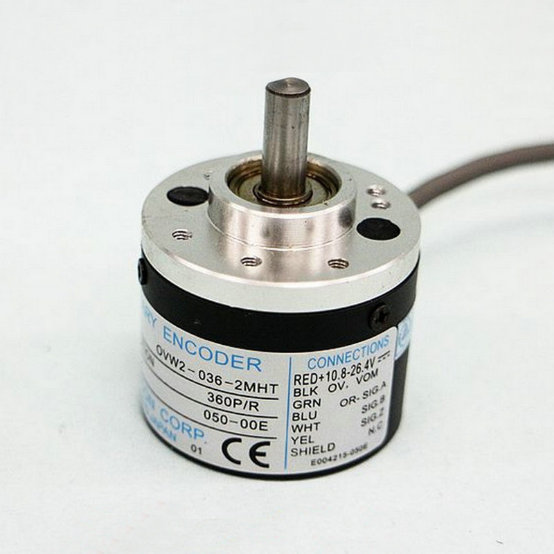 cheap Japan optical encoder NEMICON OVW1-036-2MHC incremental photoelectric encoder mechanical rotary encoder