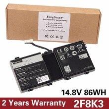 Kingsener Корея сотовый Новый 2F8K3 ноутбука Батарея для Dell Alienware 17 18 (ALW18D-1788) M18X M17X R5 2F8K3 0KJ2PX G33TT 14.8 В 86WH