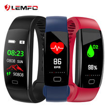 LEMFO Pedometer Smart band IP68 Waterproof Smart bracelet Color Screen Blood pressure oxygen Fitness tracker GPS watch
