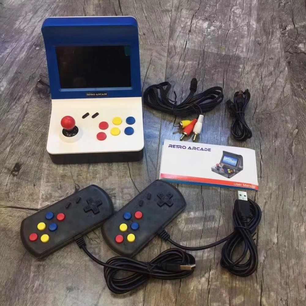 3f4e009725f8 ... 4.3inch 64Bit Portable Retro Mini Arcade Handheld Game Console 3000  Video Games Classic Family Game ...