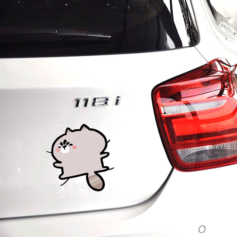 Aliauto Car-styling Cartoon Car Sticker and Decal Seize The Body Funny Accessories For Volkswagen Golf Ford Focus Toyota Peugeot