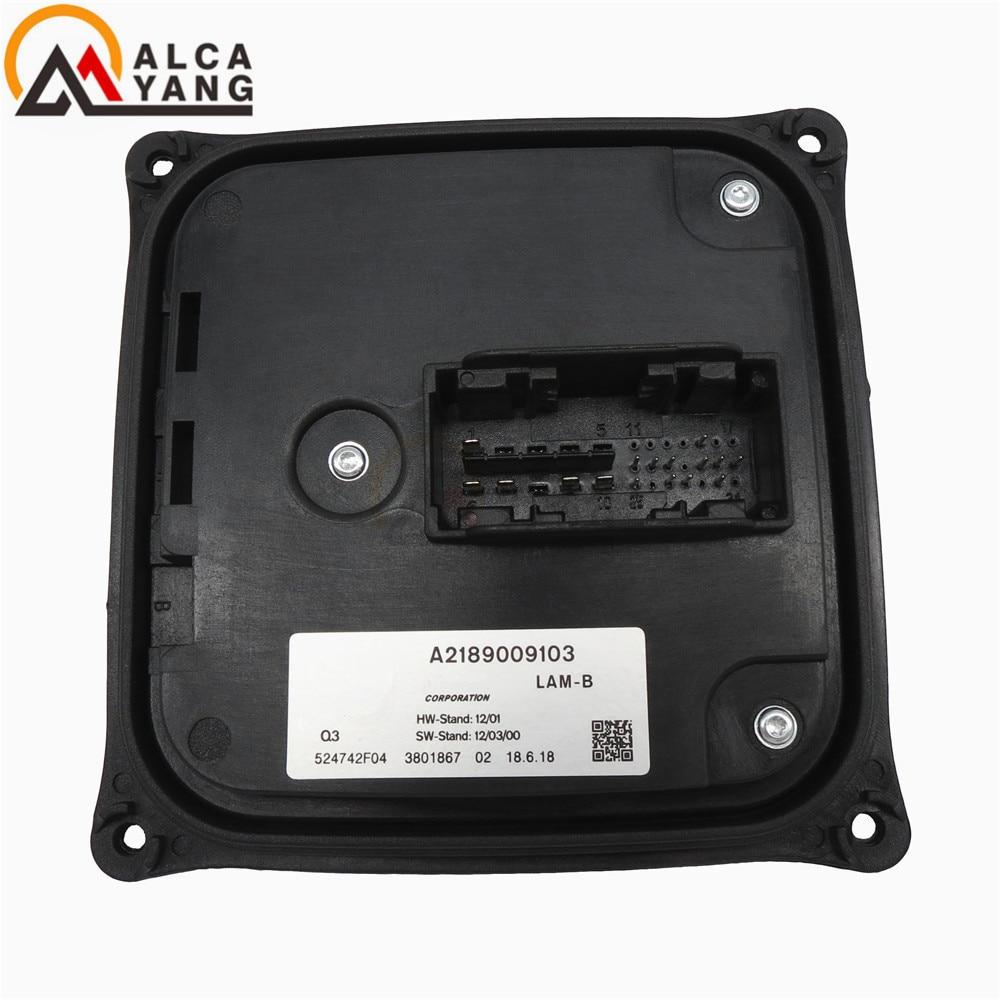 FOR Mercedes-Benz LED DRL ILS Scheinwerfer Steuergerat A2189009103 Installed Programs Control Module Lam B