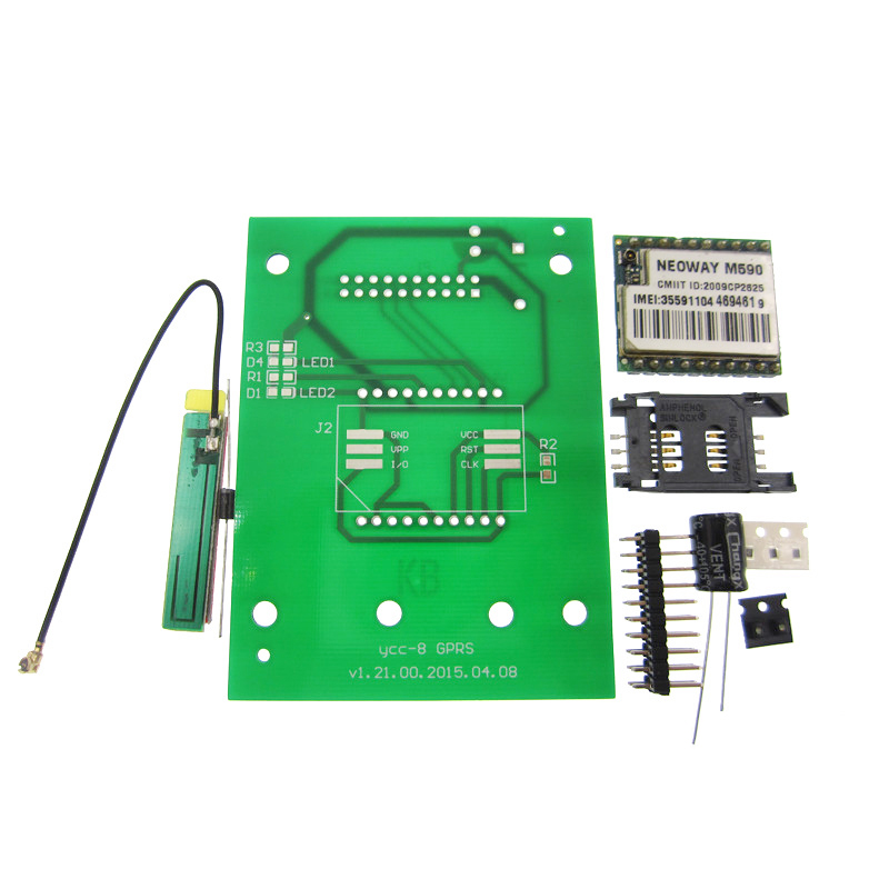 DIY KIT SIM900 module GSM GPRS 900 1800 MHz Short Message Service SMS module neoway m590 remote sensing alarm gprs gsm sms development board communication module m26 ultra sim900 stm32 internet of things with positioning