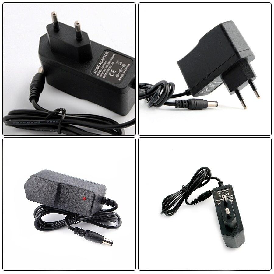 Блок питания DC 5 в 12 В 24 В 1A 2A 3A 5A 6A 8A адаптер питания DC 5 12 24 В вольт адаптер питания освещение Светодиодные полосы лампы