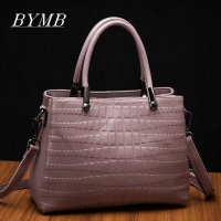 The Latest 2017 100 Genuine Leather Bag High Quality Brand Bags Crocodile Skin Single Shoulder Crossbale
