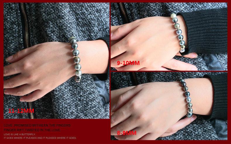tahitian pearl bracelet jewelry 100