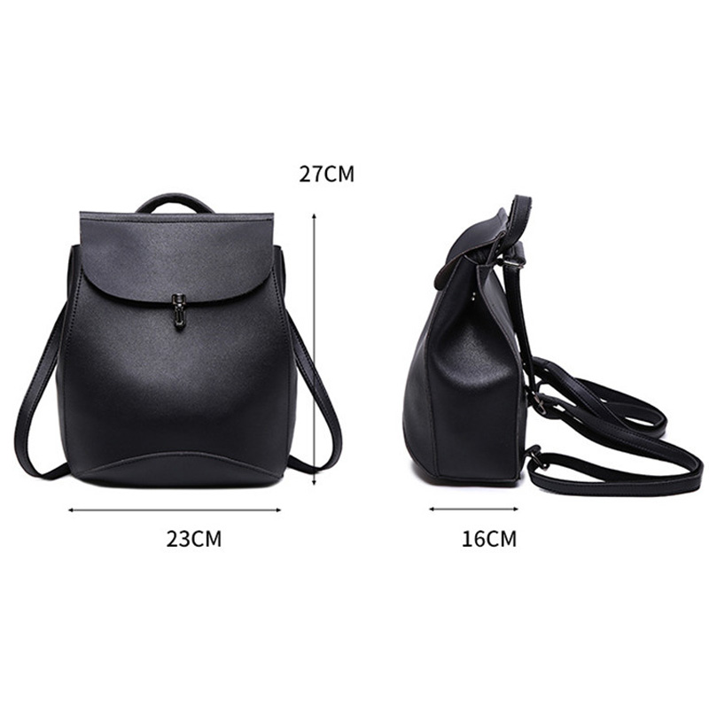 Fashion Backpack Quality Leather Backpacks For Teenage Girls Main Women  Backpack School Mochilas Escolar Shoulder Bags  Jy-f10 #5