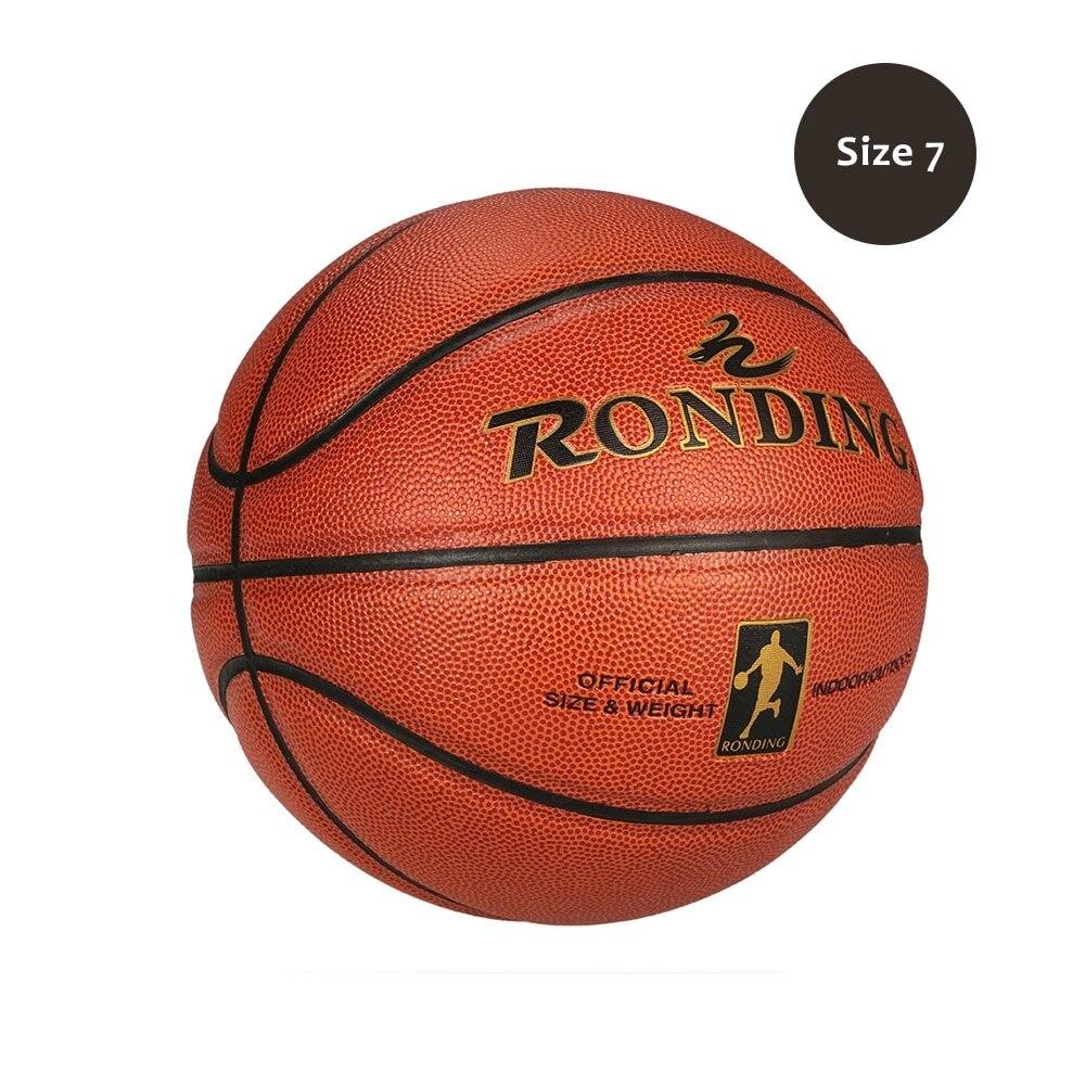 Excellente Officiel Size7 PU Intérieur Extérieur Résistant à L'usure En Cuir PU Basket-Ball D'entraînement de Compétition Jeu Équipement De Balle