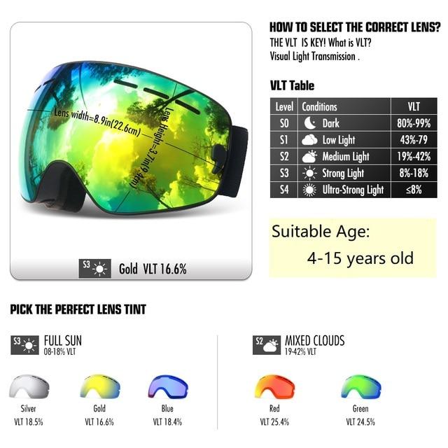 Kids Ski Goggles 1