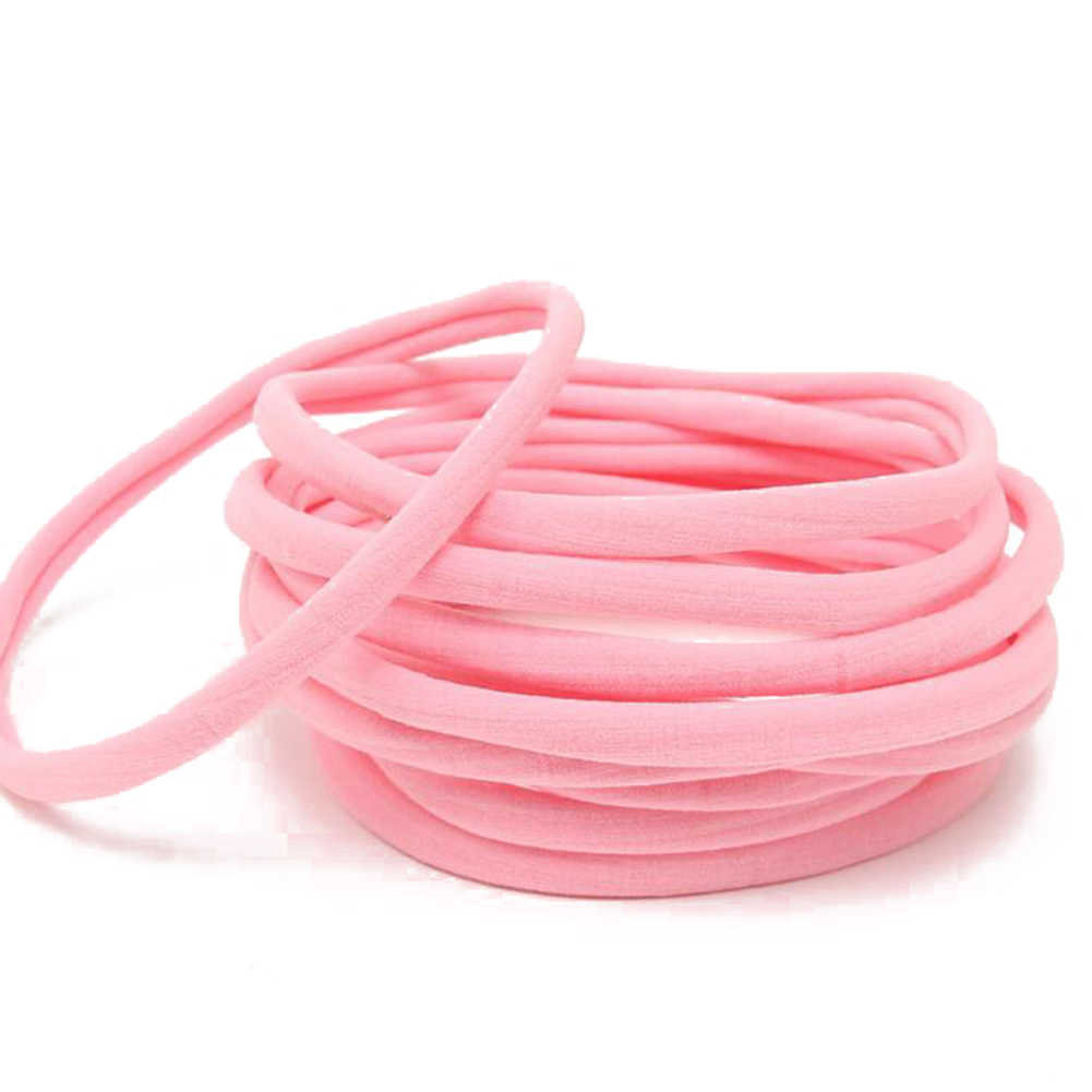 Details about  /Soft Skinny Nylon Headbands Elastic Hair Bands Cute Seamless Women/'s Accessories