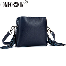 COMFORSKIN Luxury Handbags Women Bags Designer Genuine  Messenger Bag 2018 New Arrivals Brand Female Bolsas Feminina
